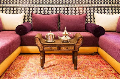 An ode to color an indian summer for Diwan for sitting